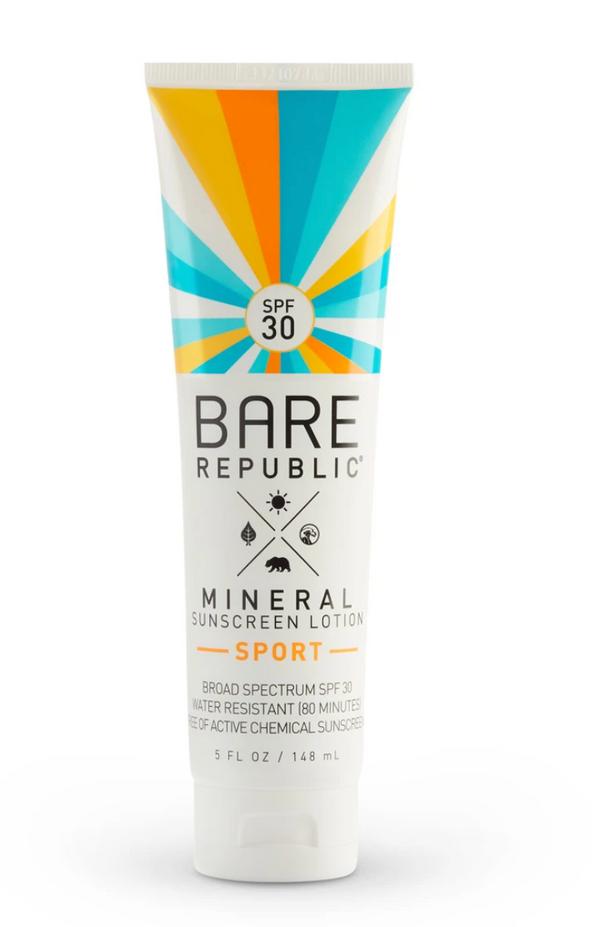 Bare Republic SPF 30 Mineral Sunscreen Lotion- Sport