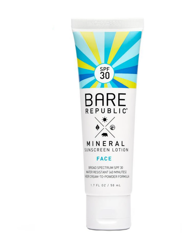 Bare Republic Mineral Matte Face Lotion SPF 30 1.7oz- Untinted