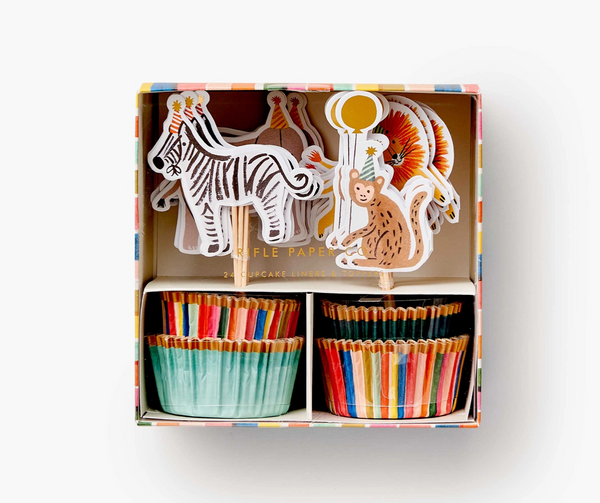 Party Animals Cupcake Kit