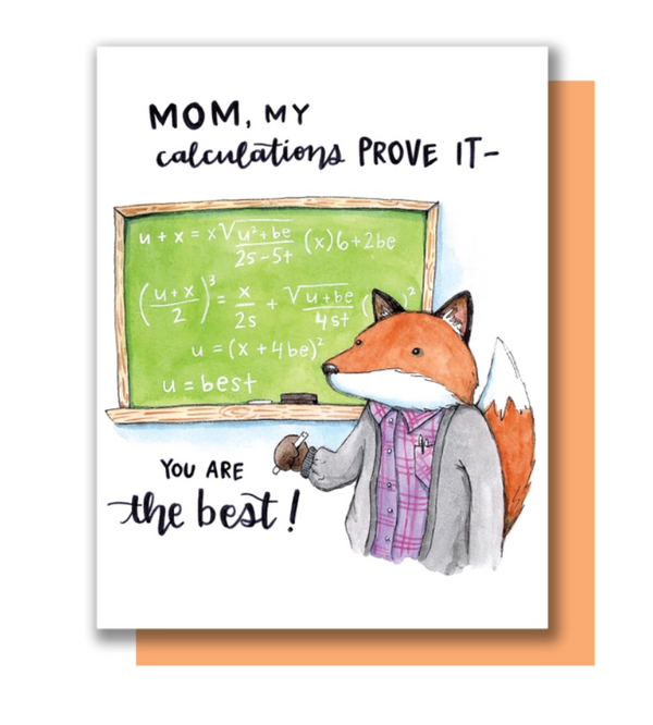 Mom Calculations Card