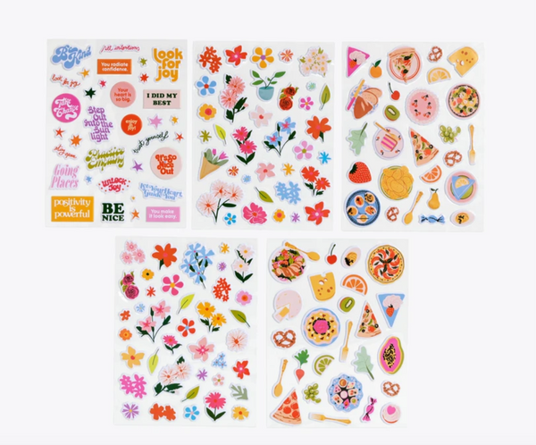 Puffy Stickers, Assorted
