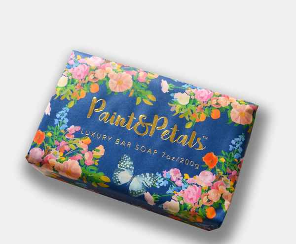 Galaxy Blue Floral Soap