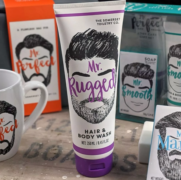 Mr. Perfect & Friends Body Care Gift Sets by Somerset Toiletry Co.