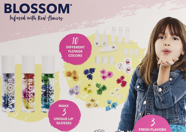 Make Your Own Lip Gloss Kit by Blossom