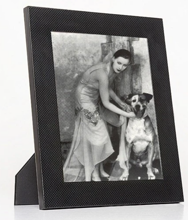 "Carbon Fiber Photo Frame 8""x10"" by Brouk"