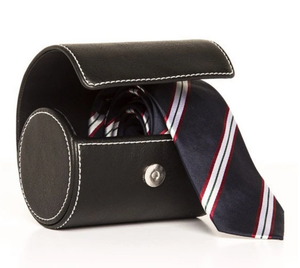 The Necktie Travel Roll (black) by Brouk