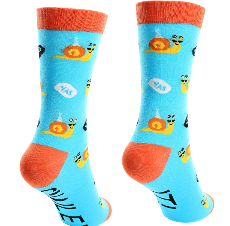 Snailed It - Unisex Cotton Blend Socks