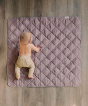Load image into Gallery viewer, DUSTY ROSE LINEN PLAYMAT
