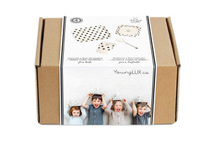 BAMBOO FIBER 4 PIECE GIFT SET FOR KIDS