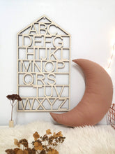 Load image into Gallery viewer, WOODEN ALPHABET SIGN