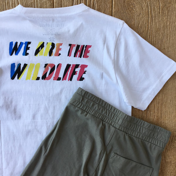MUN Wildlife White Tee Shirt