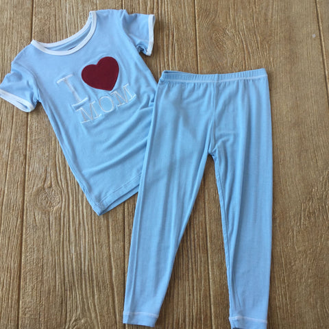 K I Love Mom 2Pc Set