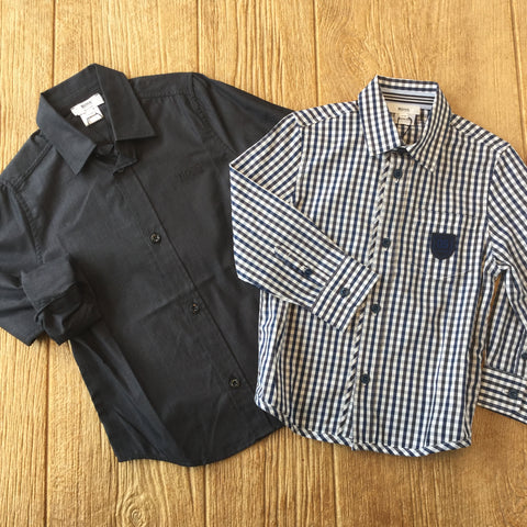 J 25C58 Black Dress Shirt
