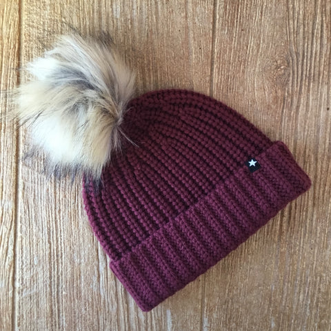 ML Kikko 2662 Burgundy Hat