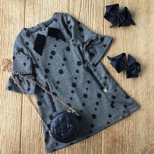 DPD C20M93 Houndstooth and Dots Dress