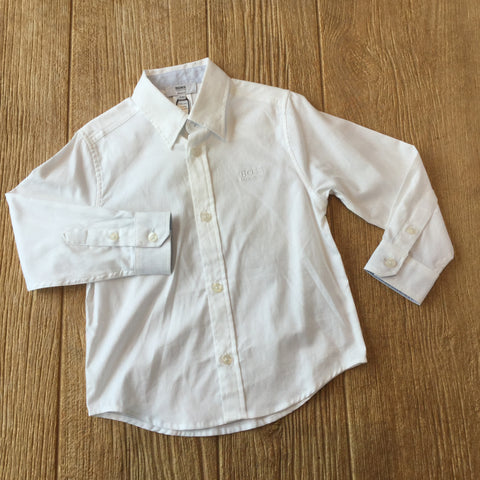 J 25977 White Dress Shirt