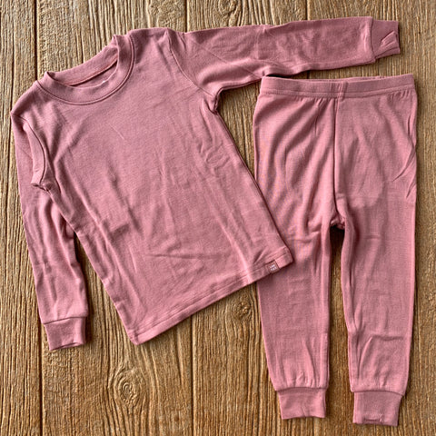 VB Modal Long Pajama Set Pink
