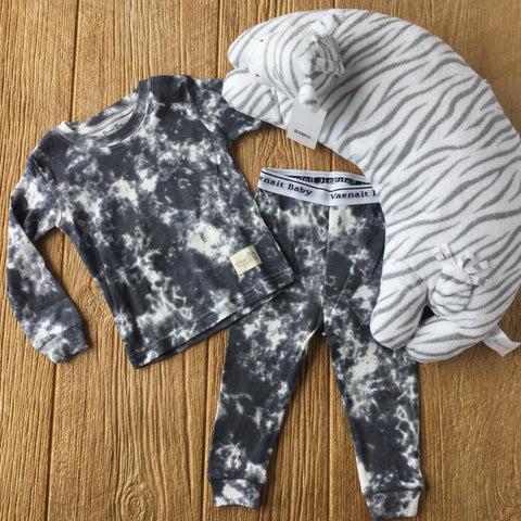 VB Charcoal  2Pc Pajamas
