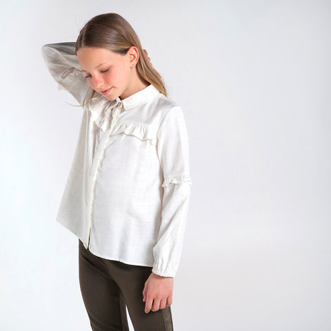MYL 7137 18 Blouse with Ruffles