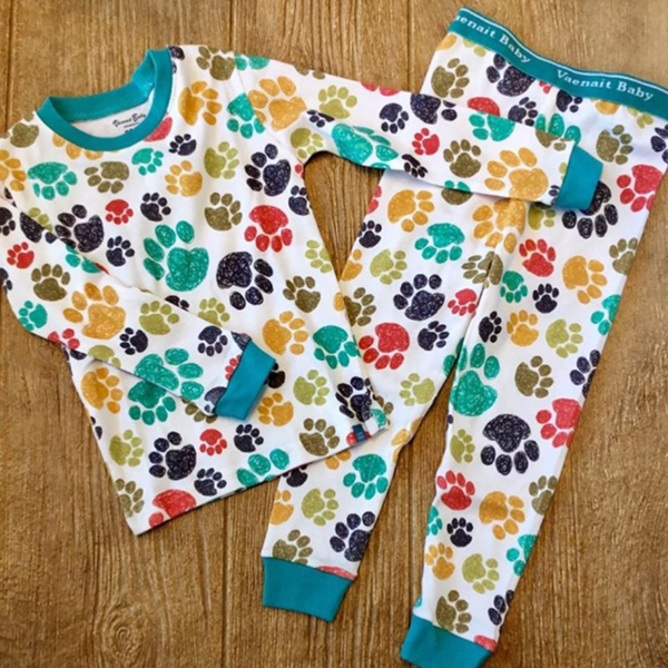 VB Paw Print 2Pc Pajamas