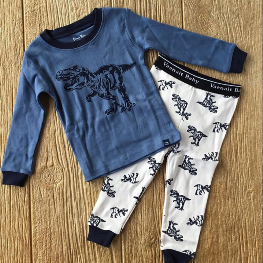VB Navy Dinosaur 2Pc Pajamas