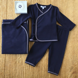 SIP Navy and Red Trim 2Pc Set
