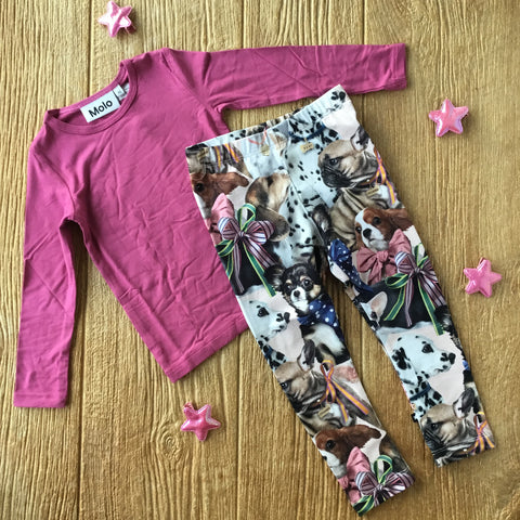 ML Niki  6273 Puppy Love Leggings