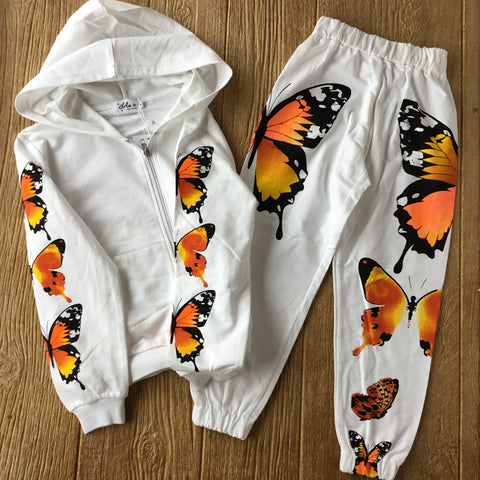 LOLA Butterfly Sweatsuit Set