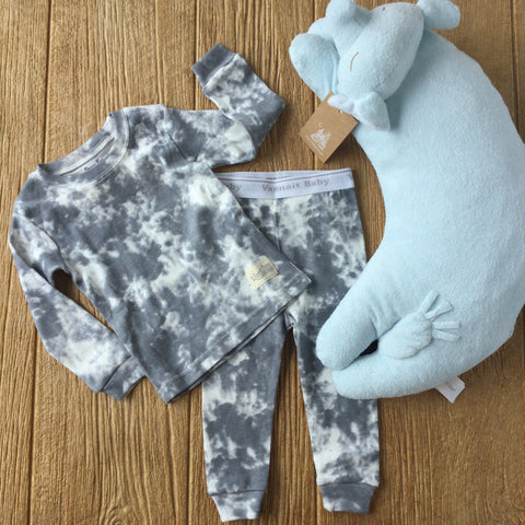 VB Grey 2Pc Pajamas