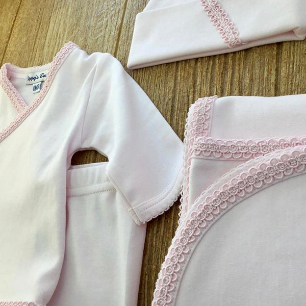SIP Pink Trim 2Pc Set
