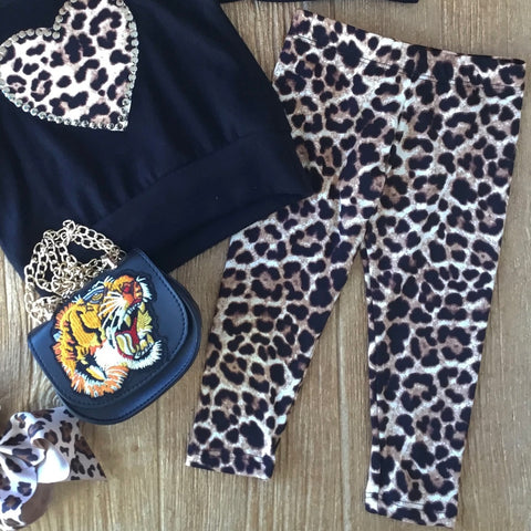 LTP Baby Cheetah Leggings