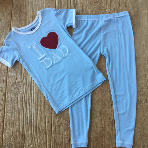 K I Love Dad 2Pc Set