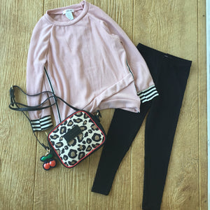 AC MD 145 Pink Striped Sweater