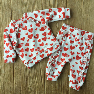 4W19I204Baby Heart Sweatpants