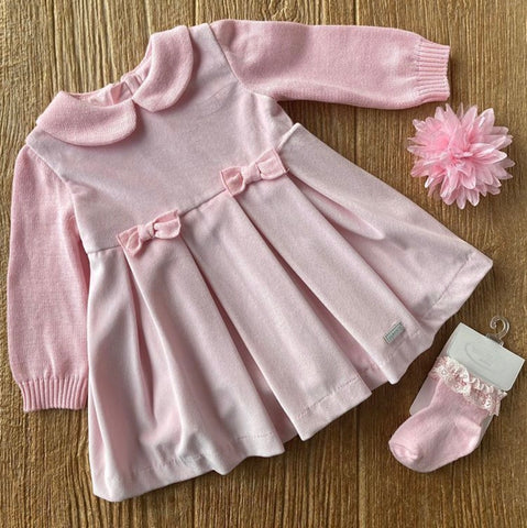 MYL 2944 63 Pink Dress with Bows