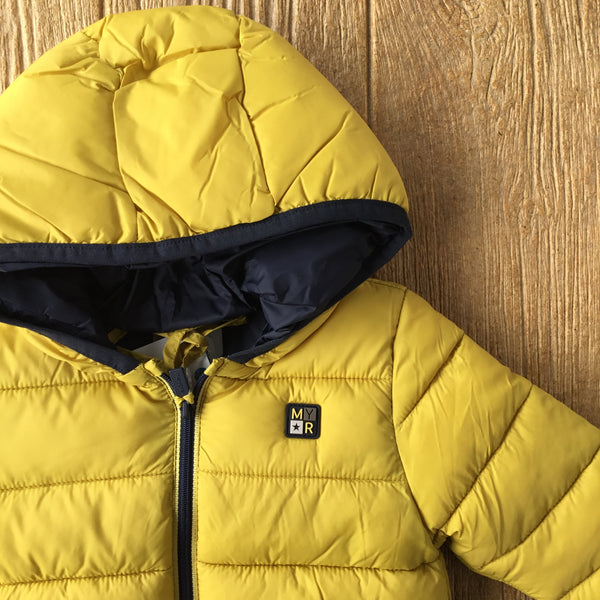 MYL 2487 61 Yellow Puffer Coat