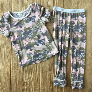 HN Camo Butterfly 2Pc Pajama Set