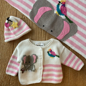 AW 464 Elephant & Friends Sweater