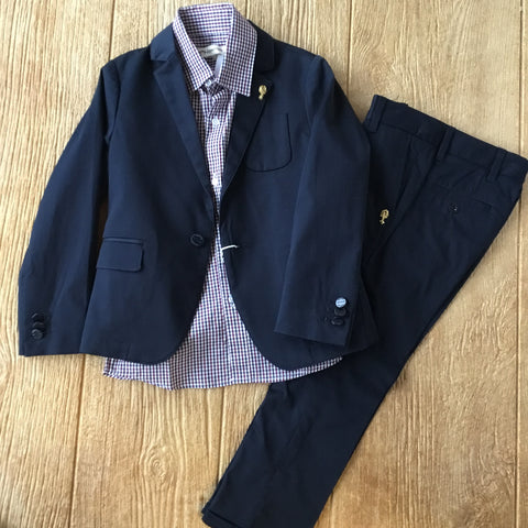 SS 135828 Navy Suit