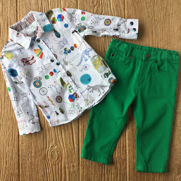 PS 12552 Science Graphic Shirt