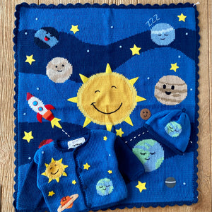 AW 485 Around the Sun Blanket