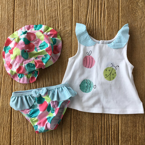 MYL 1650 14 3pc Swim set with Hat