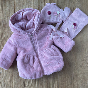 MYL 2433 68 Reversible Furry Coat