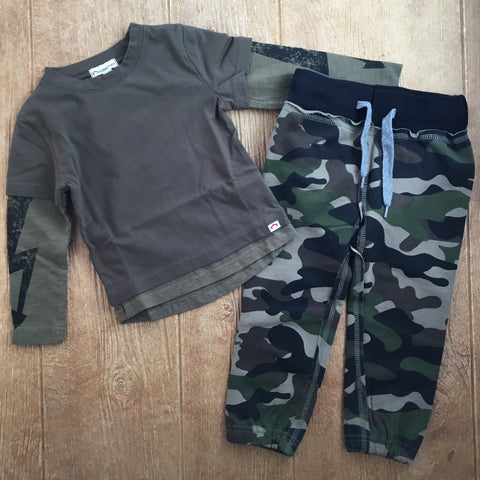 AM W2GS GNC Green Camo Sweatpants