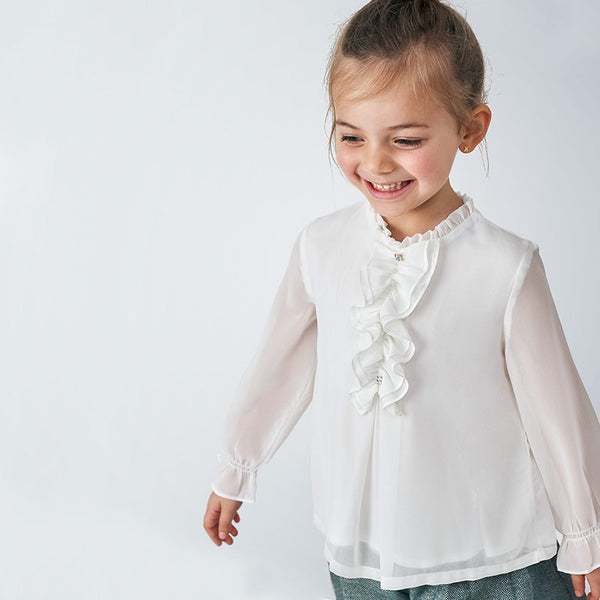 MYL 4150 59 Blouse with Ruffles