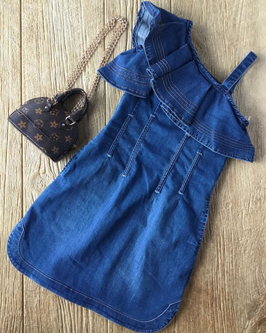 HBTL 02755s Denim Dress