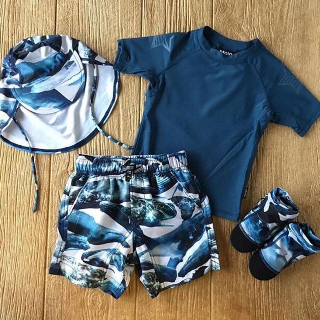 ML Nario Whales Swim Short