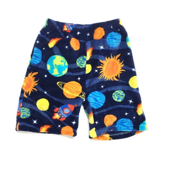 CONF 39 Fuzzy Shorts Outer Space