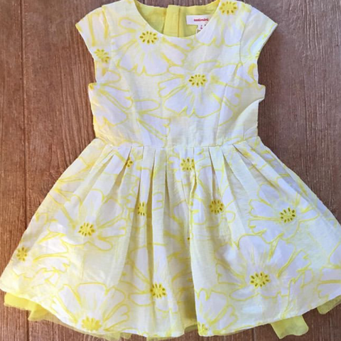 CQ 30195 72 Yellow Dress
