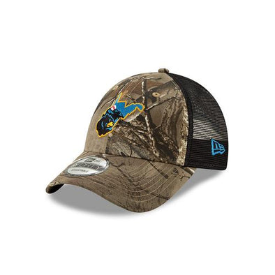 West Virginia Black Bears Realtree Camo Trucker Hat